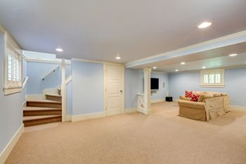 Basement renovation in Pomona by Picture Perfect Handyman