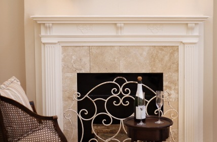 Decorative fireplace by Picture Perfect Handyman