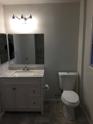 Complete Bathroom Remodel by Picture Perfect Handyman