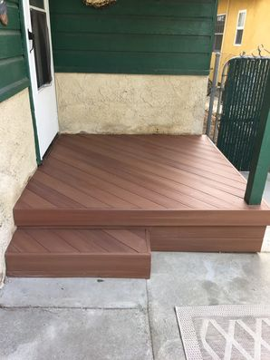 Before & After Porch / Deck Building in Sunland, CA (3)
